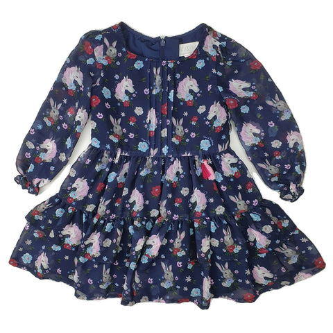 Dress Size 2 TUTUS & TAMBOURINES Dress Junico Kids 10.99 Junico Kids sustainable affordable preloved baby kids clothing clothes local shop australia