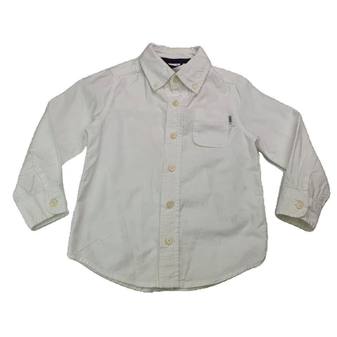 Shirt Size 3 OshKosh button front shirt Junico Kids 14.99 Junico Kids sustainable affordable preloved baby kids clothing clothes local shop australia