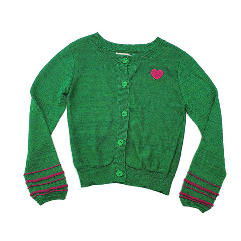 Cardigan Size 4-5 Gumboots party cardigan Junico Kids 14.99 Junico Kids sustainable affordable preloved baby kids clothing clothes local shop australia