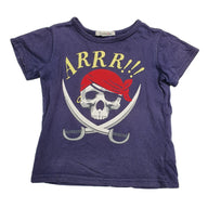 T-Shirt Size 4 Charlie & me pirate t-shirt Junico Kids 3.90 Junico Kids sustainable affordable preloved baby kids clothing clothes local shop australia