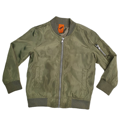 Jacket Size 4 Tilt bomber jacket Junico Kids 12.90 Junico Kids sustainable affordable preloved baby kids clothing clothes local shop australia