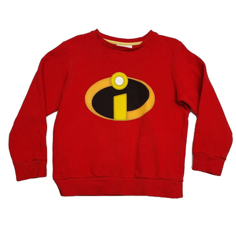 Jumper Size 5-6 Next the Incredibles jumper Junico Kids 8.90 Junico Kids sustainable affordable preloved baby kids clothing clothes local shop australia