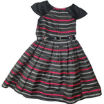 Dress Size 5 Origami midi belted dress Junico Kids 18.90 Junico Kids sustainable affordable preloved baby kids clothing clothes local shop australia