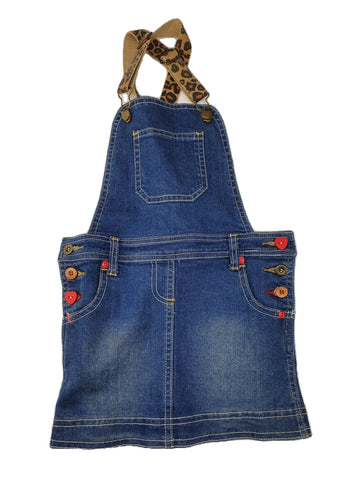 Overall Size 6 Breakers denim skirt overall Junico Kids 12.99 Junico Kids sustainable affordable preloved baby kids clothing clothes local shop australia