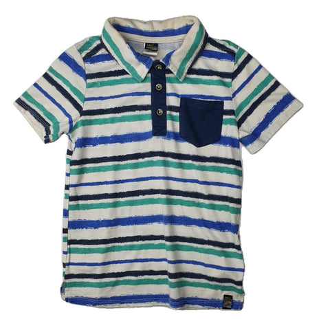 Polo shirt Size 6 CHARLIE ROCKET WEAR Polo shirt Junico Kids 4.99 Junico Kids sustainable affordable preloved baby kids clothing clothes local shop australia