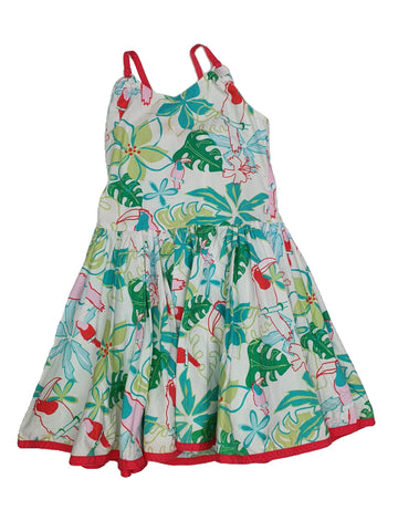 Dress Size 6 Gumboots tropical dress Junico Kids 15.90 Junico Kids sustainable affordable preloved baby kids clothing clothes local shop australia