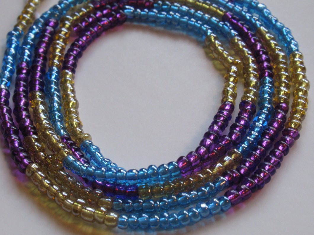 Periwinkle Dream Waist Beads
