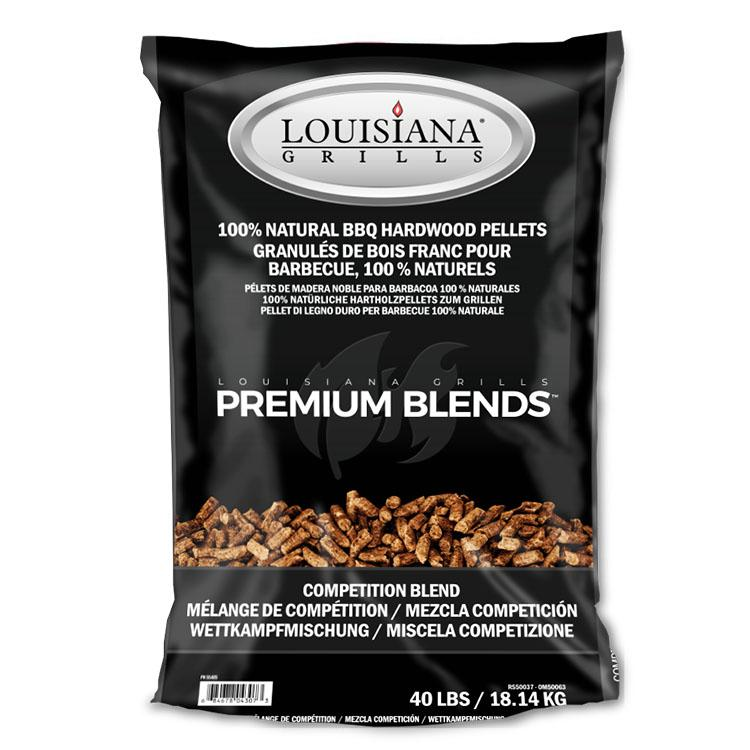 Louisiana Grills Pellets, 18KG, Competition Blend
