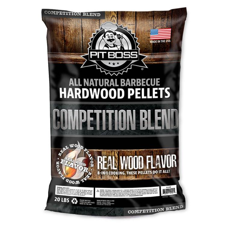 Pit Boss Competition Blend BBQ Smoker Pellets- 9KG