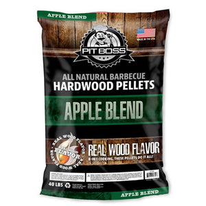 Pit Boss Apple BBQ Smoker Pellets- 9KG