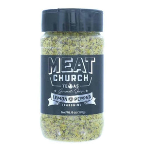 Meat Church Gourmet Lemon Pepper Seasoning – 170g