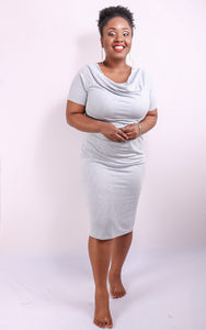 The Archie Cowl Neck Dress