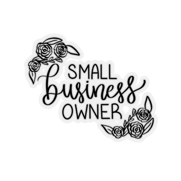 Small Business Owner Sticker
