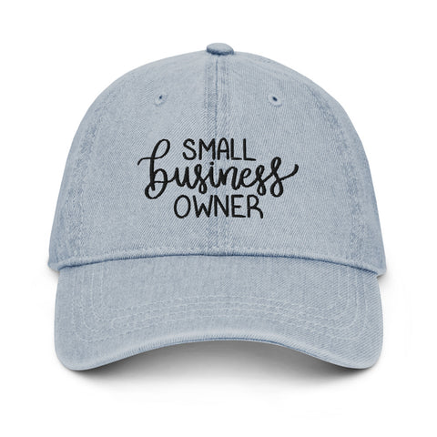 Small Business Owner Demin Hat
