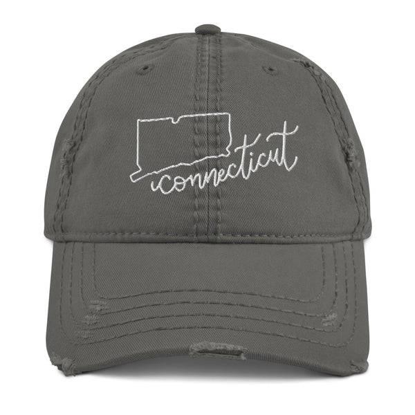 Connecticut Distressed Hat