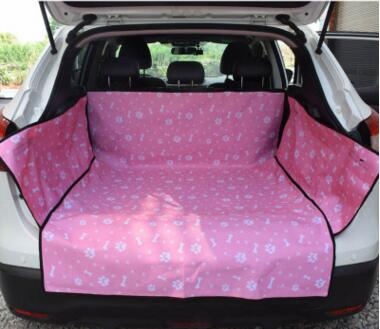 Cozy Hammock-Style Waterproof Scratch-Proof Dog Car Trunk Seat Cover