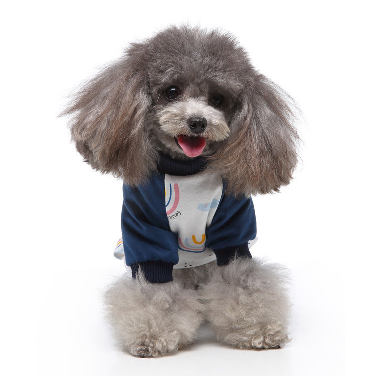 Pet Cotton Rainbow Pajamas