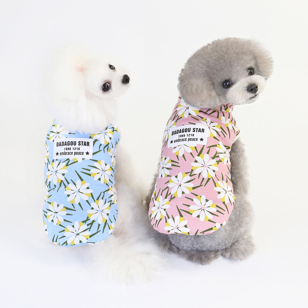 Pet / Dog / Pet Floral, Hawaiian Vest