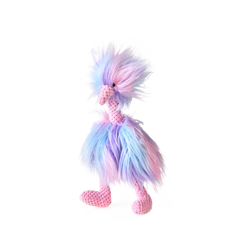 Dog / Pet Toy, Colorful Fluffy Turkey, Squeaky toy