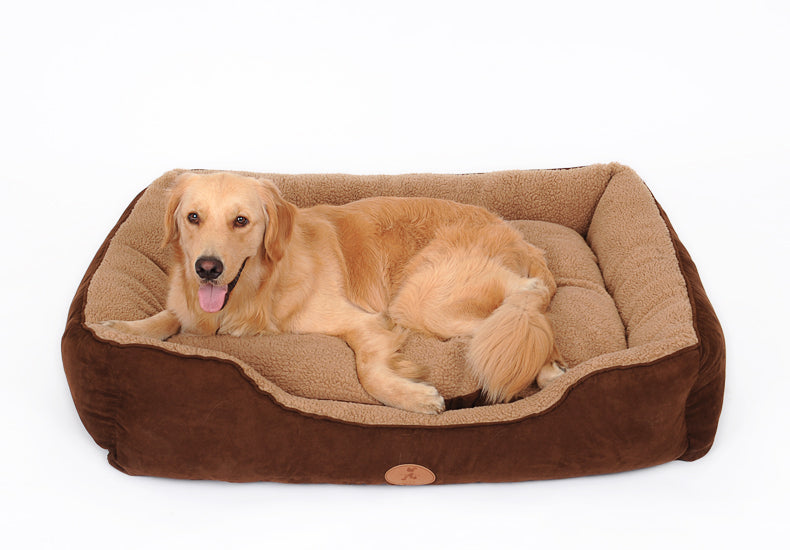Rectangular Bolster Cat & Dog Bed