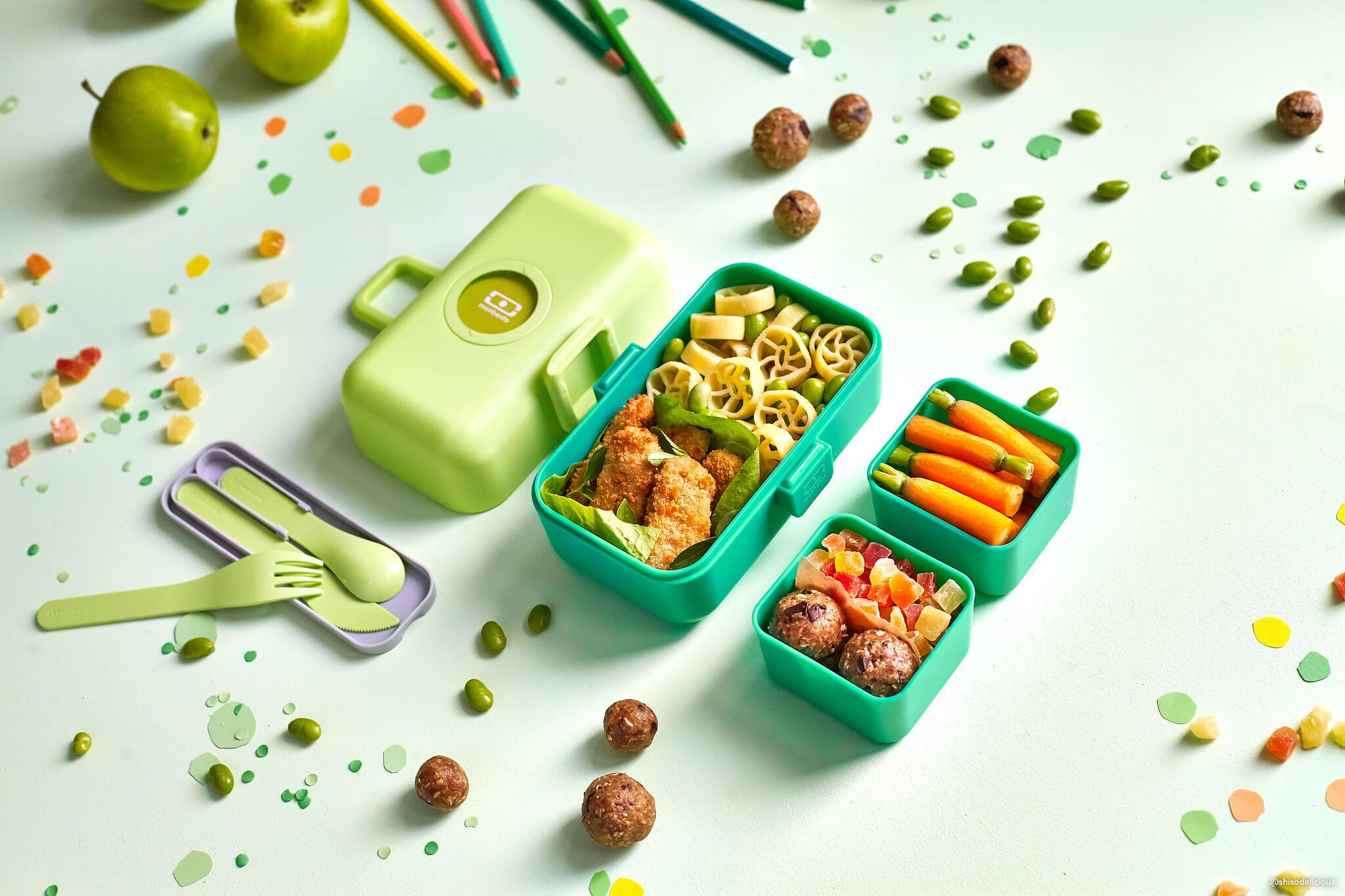 MONBENTO MB Tresor green Apple