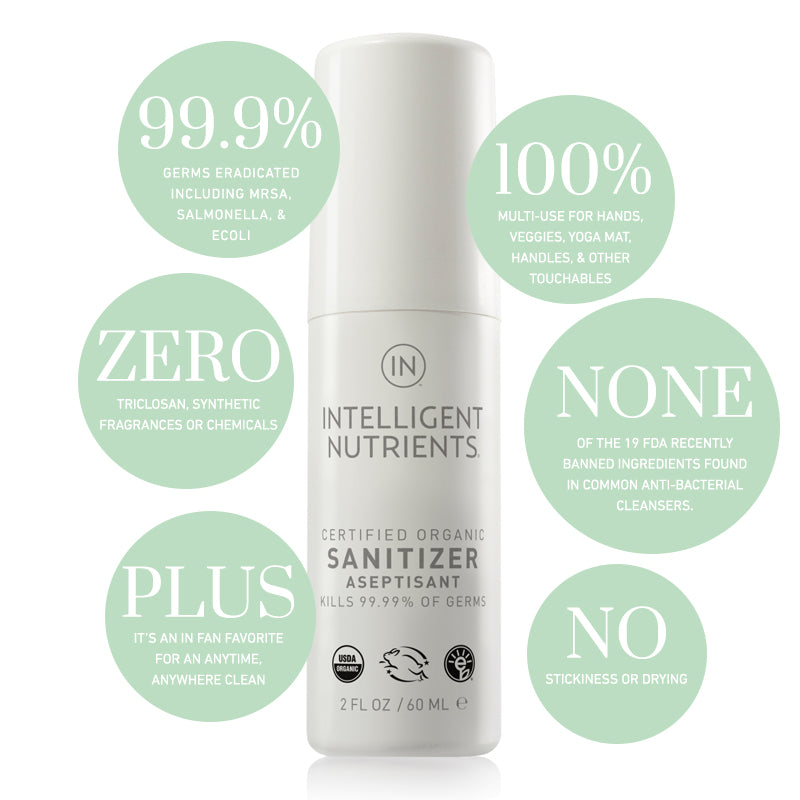 Intelligent Nutrients Sanitizer 60ml