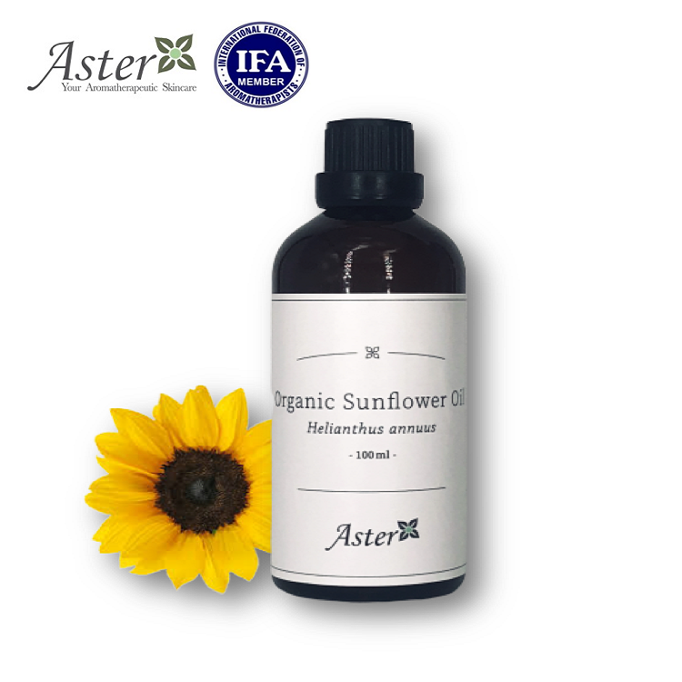 Aster Aroma 有機葵花籽油 (Helianthus Annuus) - 100ml