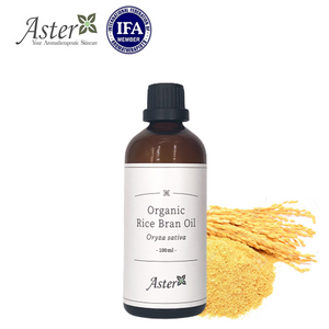 Aster Aroma 有機米糠油 (Oryza sativa) - 100ml