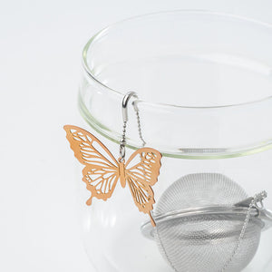01LIV CHICHI 茶球 - Fly Butterfly C/U (Rose Gold)