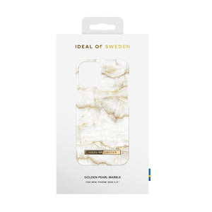 iDeal Of Sweden iPhone 12 (mini/Pro/Pro Max) 手機殼 - Golden Pearl Marble