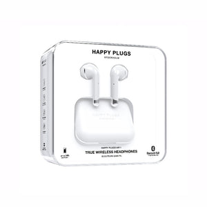 Happy Plugs AIR1 系列真.藍芽耳機 (白色)