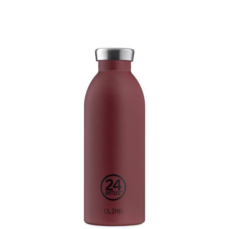 24Bottles Clima 保溫不銹鋼水瓶 500ML – Country Red