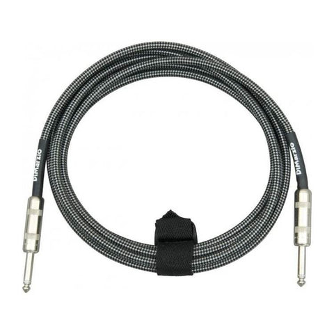 010 Ft Guitar Cable Black/Grey