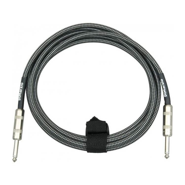 010 Ft Guitar Cable Black/Grey.