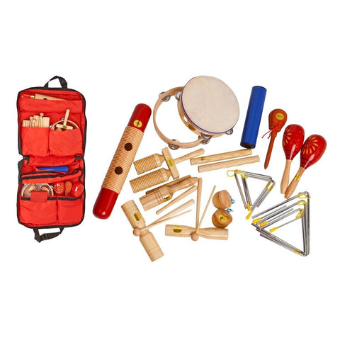 17 Pce Percussion Set W/Bag