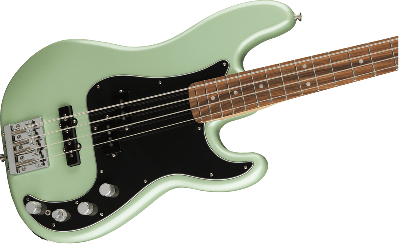 Fender Deluxe Active P Bass Special, Pau Ferro Fingerboard, Surf Pearl - Five Star Music