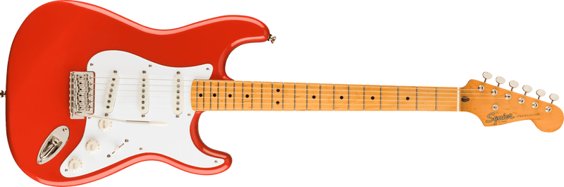 Classic Vibe 50s Stratocaster Maple Fingerboard Fiesta Red.