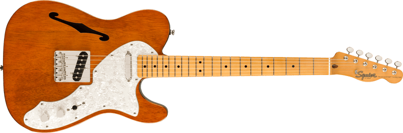 Squier Classic Vibe 60s Telecaster Thinline Natural.