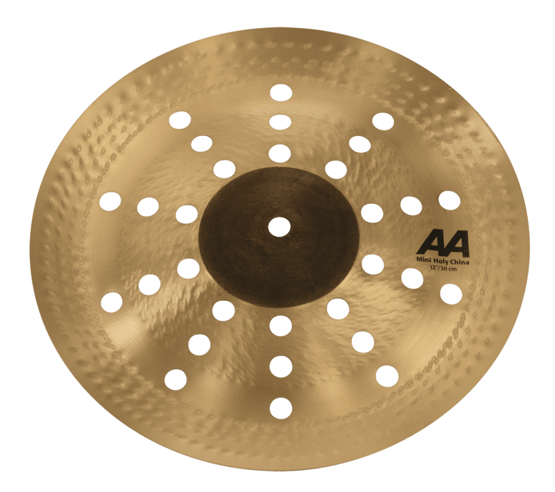 "Sabian 21216CS 12"" Mini Holy China Cymbal."