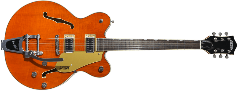 G5622T Electromatic Center Block Double-Cut with Bigsby Rosewood Fingerboard Vintage Orange.