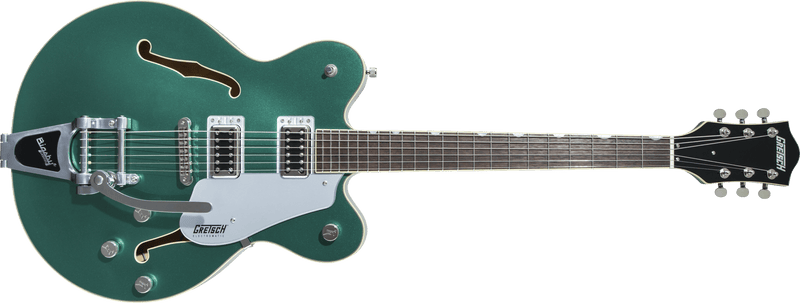 G5622T Electromatic Center Block Double-Cut with Bigsby Laurel Fingerboard Georgia Green.