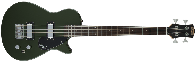 G2220 Electromatic Junior Jet Bass II Short-Scale Black Walnut Fingerboard 30.3 Scale Torino Green.