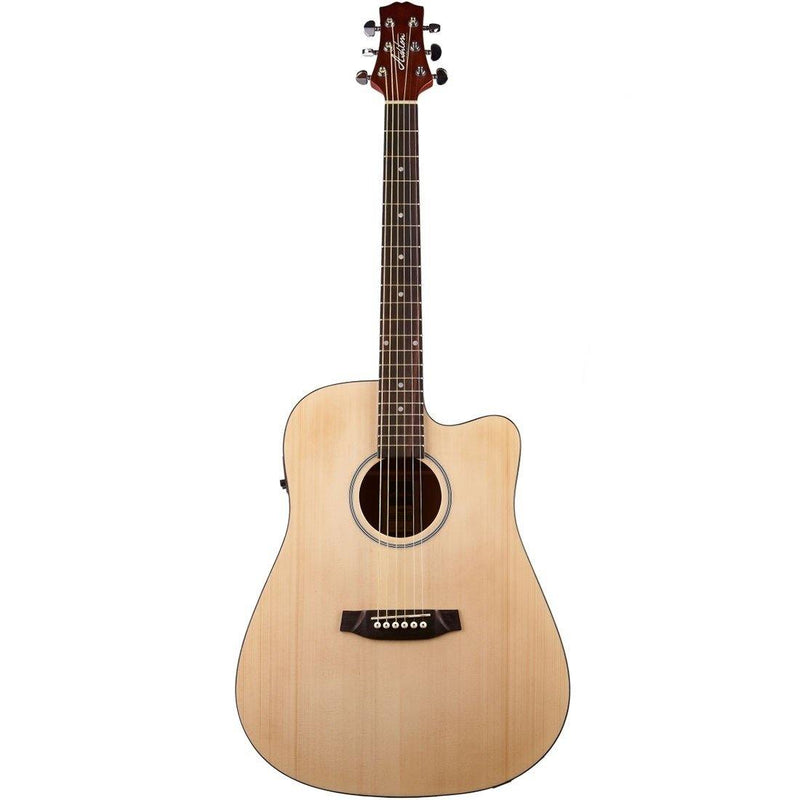 Ashton D20SCEQNTM Acoustic/Electric with Solid Top and Cutaway.