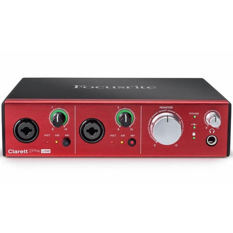 Focusrite Clarett 2Pre USB Interface 4-in-4-out
