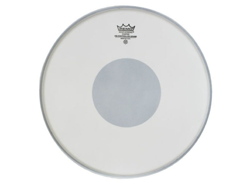 Remo Controlled Sound 13 Inch Drum Head Coated with Black Dot.