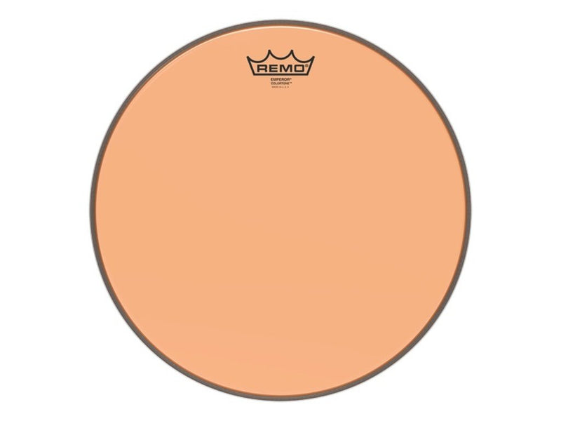 Remo Emperor Colortone Orange 13 Inch.