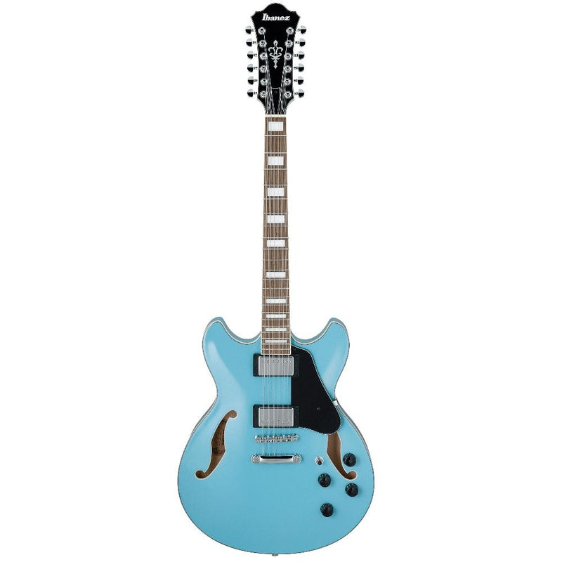 Ibanez AS7312 12 String Hollow Body Mint Blue.