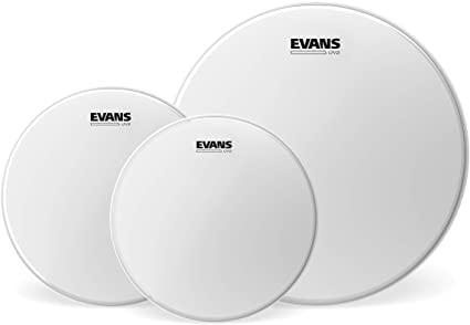 Evans Fusion Tom Pack with UV2 Coated heads (10|12|14).