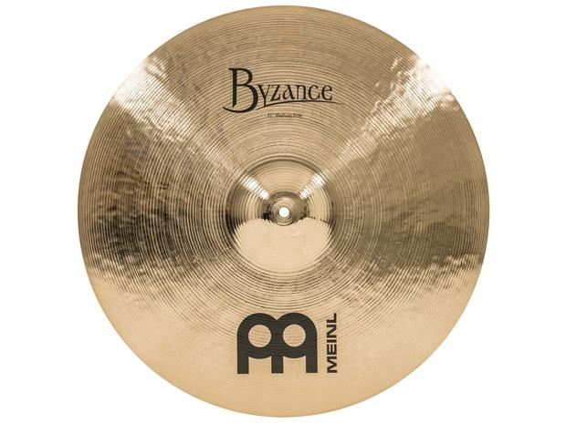 "Meinl Byzance Brilliant 21"" Medium Ride."