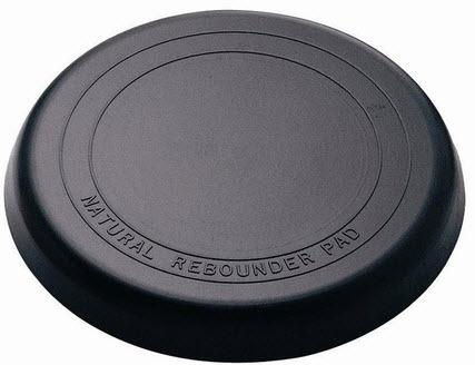 12 Inch Practice Pad Natural Rubber.
